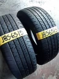 Par de pneus 185/65/15 goodyear
