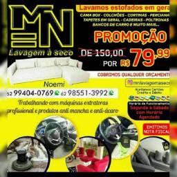 MEGA PROMOÇÃO 79.99 LAVAGEM A SECO DE SOFÁ