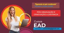 Curso de Graduação e pós EAD
