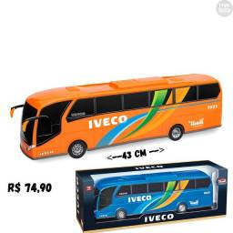 Ônibus Iveco miniatura - Loja PW STORE