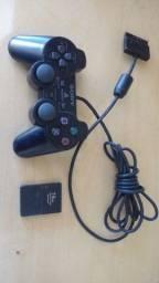 Título do anúncio: PlayStation  2 com memoricard 1comtrole e 3 jogos