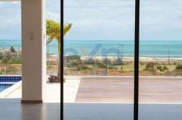 Título do anúncio: Casa de Praia Alto Padrão de Luxo com Vista Mar Pé na Areia no Aquiraz Riviera no Ceará à