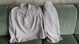 Conjunto Tam G (48) com blusa e saia