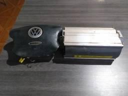 Conjunto air bags volante e passageiro VW