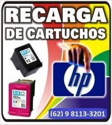 Recarga cartucho HP