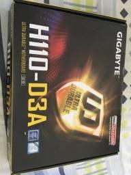 Placa mãe gigabyte - suporta i3/i5/i7