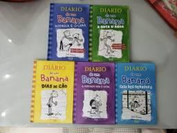 Título do anúncio: Livros Diário de um Banana
