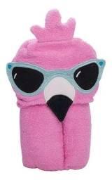 Título do anúncio: Toalha de Banho Infantil Funny Flamingo