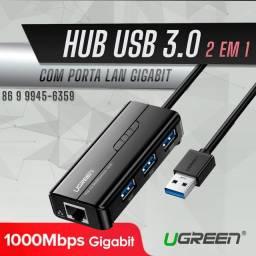 Hub cm LAN Gigabit