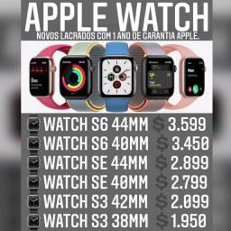 Apple Watch série 6 44mm novo lacrado com 1 ano de garantia Apple.