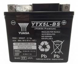 Bateria Yuasa YTX5L-BS 5Ah CG125 Fan Titan Bros Biz 125 XRE 300