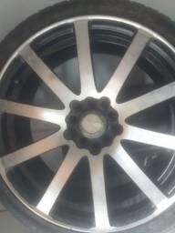 "GP Wheels Rodas 17""Multi furos Vendo Ou Troco  Novas Impecaveis"