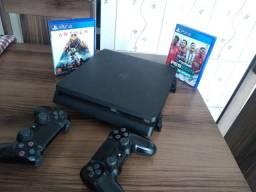 Playstation 4 completo valor pra hoje 1900$
