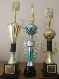 Kit 3 Troféus Honra ao Mérito Usados