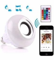 Lampada Led com Bluetooth e controle remoto