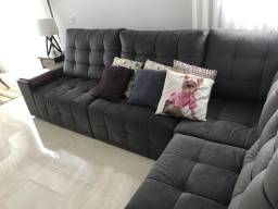 Vendo sofá fabricado pela estofados Lideranca - vendo com desconto de 1 mil reais