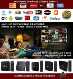 TV Box Configurado Kodi, Netflix, YouTube e Muito Mais - A partir de R$140,00
