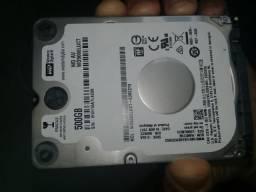 HD West Digital 500gb slim