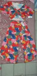 Conjunto: Blusa e Calça