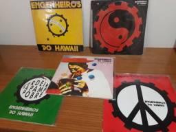 Raros singles vinil LP engenheiros do hawaii