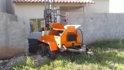 Maquina perfuratriz poços artesianos