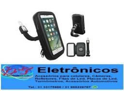 Título do anúncio: Suporte Universal 5,5 Capa Celular Gps Moto Case Impermeável