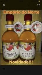 Vinagre orgânico de maçã