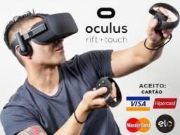 Oculus Rift 3D Kit Headset + Controle Toutch + 2 Sensores, Novíssimo, Cx, Nota, Gar, Troco
