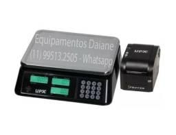 Balança comercial etiquetadora, balança eletrônica, balança computadora
