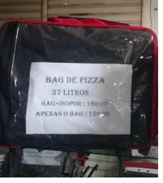 Mochila bag de Pizza e Marmita 37 litros [entregamos grátis] *