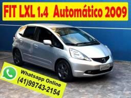 Honda FIT 1.4 LXL Automático 2009 * Completo * 2º Dono * Aceito Troca * Financio - 2009
