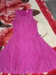 Vestido rosa P