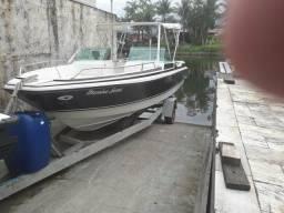 Lancha cobra canguru 19 pés com motor 115 hp - 2006 comprar usado  Rio de Janeiro