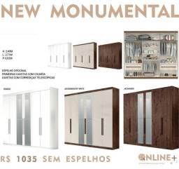 Roupeiro New Monumental