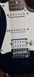 Título do anúncio: Guitarra Golden Stratocaster Preta