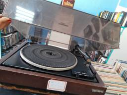 Toca disco prato gradiente Linha S com um disco de brinde