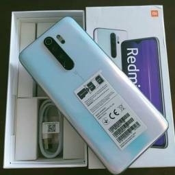 "Xiaomi Redmi Note 8 Pro Dual SIM6Gb ram 64GB 6.53"" 64+8+2+2/20MP OS 9.0 - Pearl White"