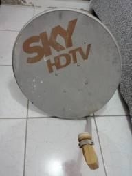Antena SKY grande com LNB