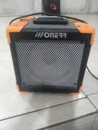 Amplificador Onerr Block 20tu Com Metronomo