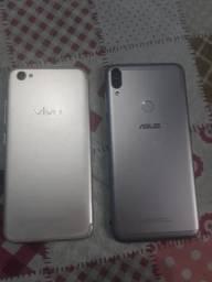 Asus Zenfone Pro Max M1 e VIVO X9 (PRA PEÇAS