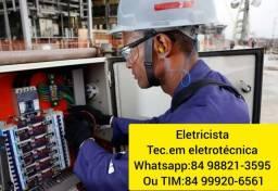 Eletricista Profícional ( Técnico em Eletrotécnica )