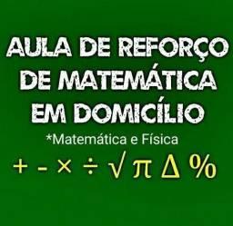 Aulas de Reforço de Física e Matemática