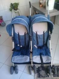 Carrinho de bebê duplo ( Gêmeos )