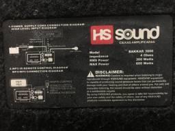 Vendo caixa amplificada HS sound