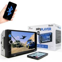 Central Multimídia MP5 Player Knup 7' Bluetooth SD
