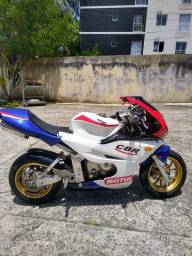 Mini moto esportiva 50c