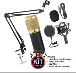 Kit bm800 ( até 5x s/juros no cartão)