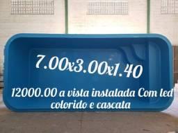 Piscina 7x3x140