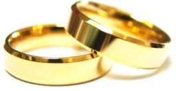 Alianças casamento, noivado e compromisso, moeda antiga com prata. Topppp