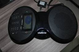 Telefone Audioconferência Intelbras TS 9160 em Plástico Preto